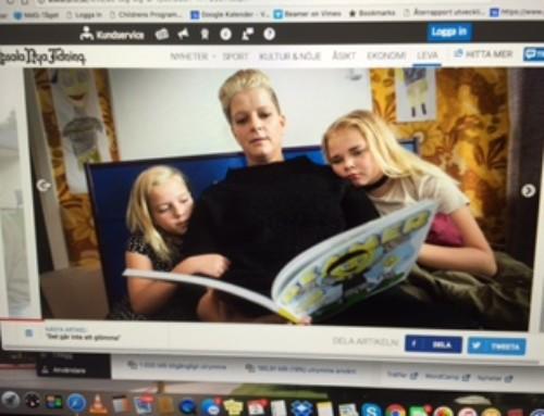 Helt uppslag i Uppsala Nya Tidning